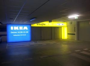 Svetelná reklama